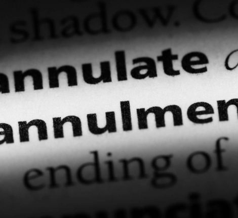 Implications of annulment