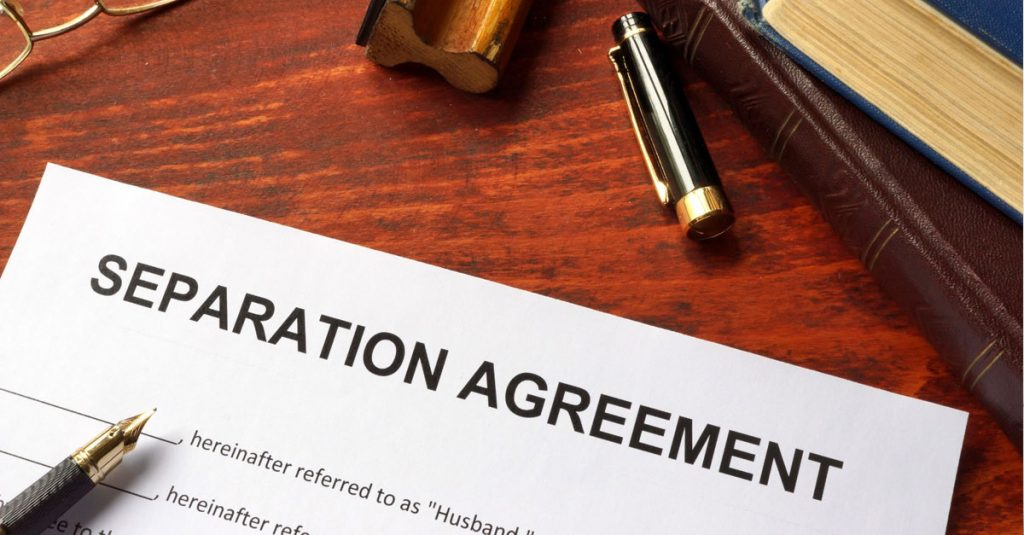 Setting aside a Deed of Separation