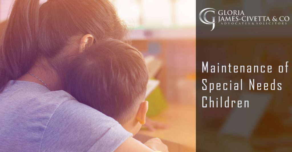 Maintenance of Special Needs Children